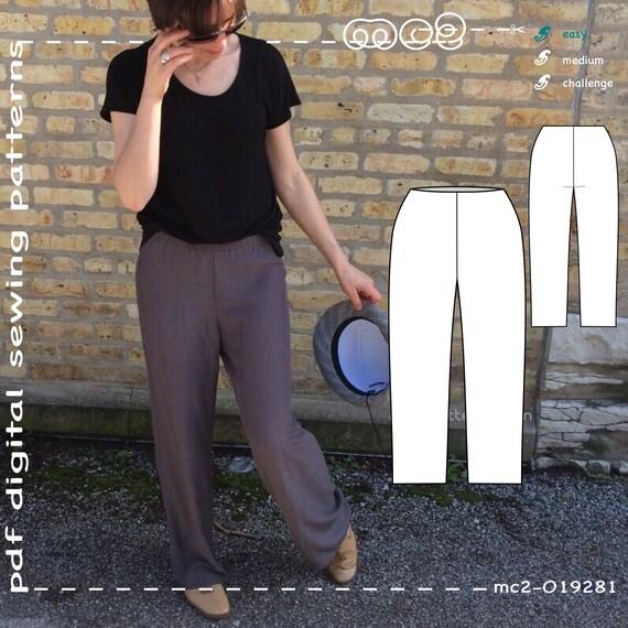 Yoga Pants Plus Size Sizes: XL-XXL-XXXL Sloper/Block