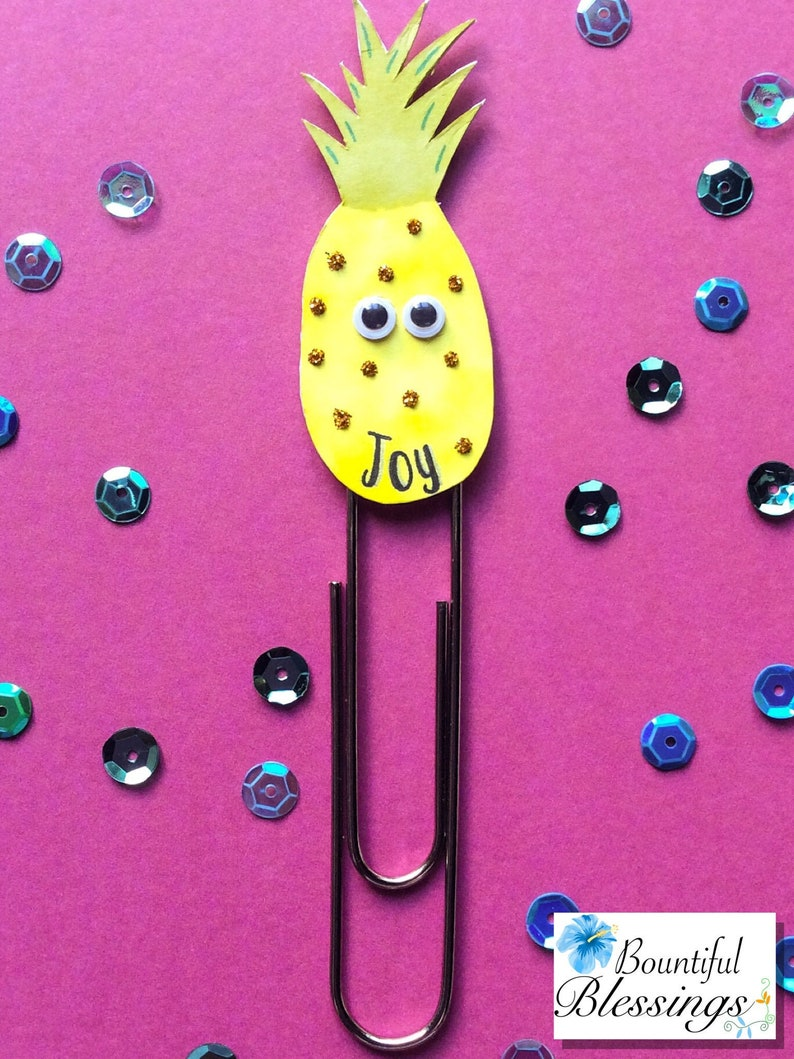 Fruit Paperclip  Pineapple image 0