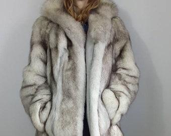 16802844491b Fur coat