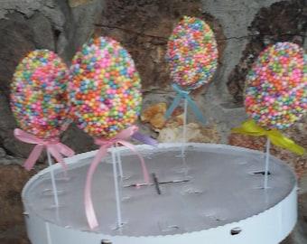 Easter faux cake pops