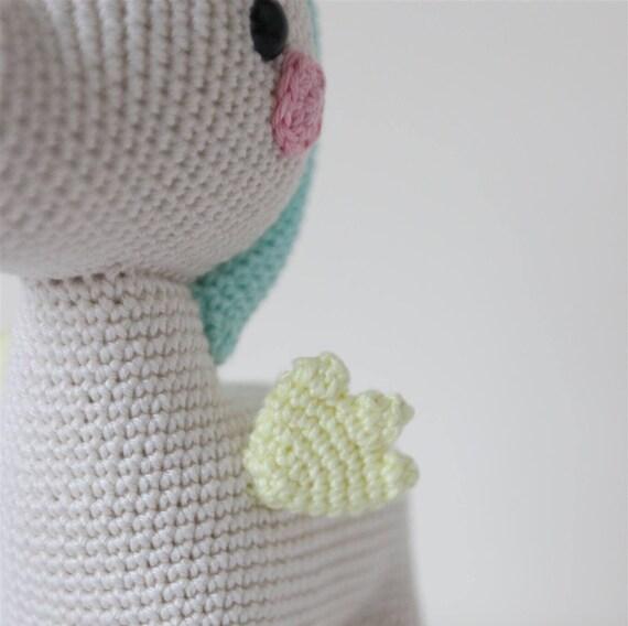 Unicornio de ganchillo / unicornio juguete / Amigurumi | Etsy
