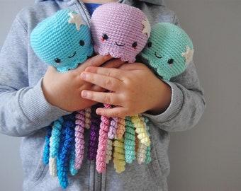 Cute Crochet Octopus toy for Preemie