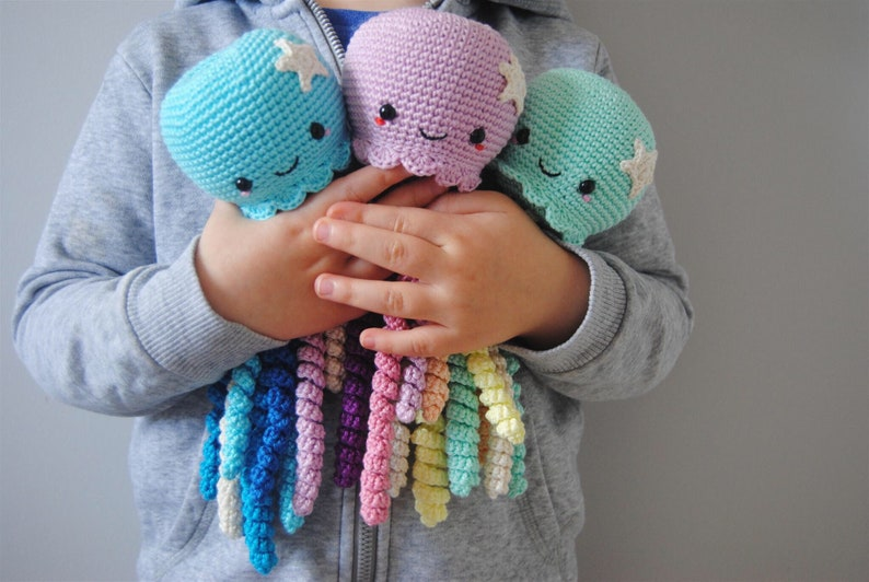 Cute Crochet Octopus toy for Preemie image 0