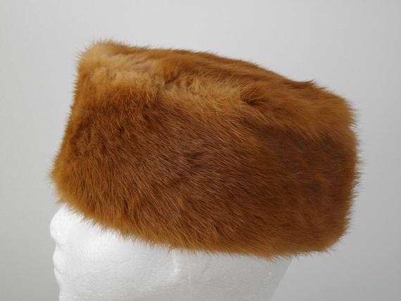 1960's MINK FUR HAT - image 2