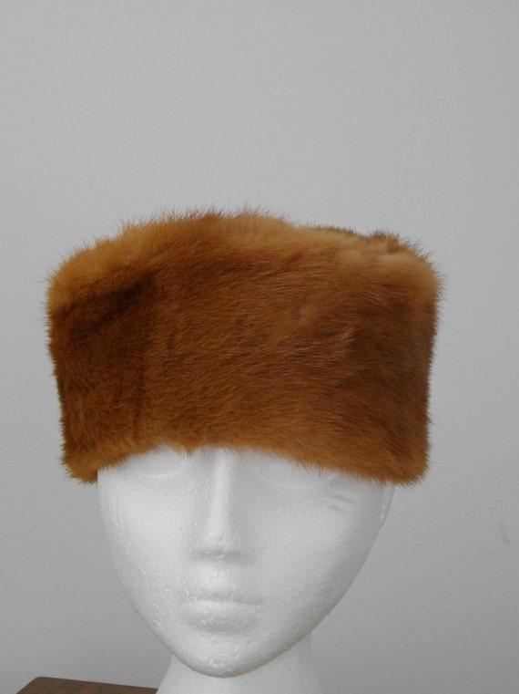 1960's MINK FUR HAT - image 1