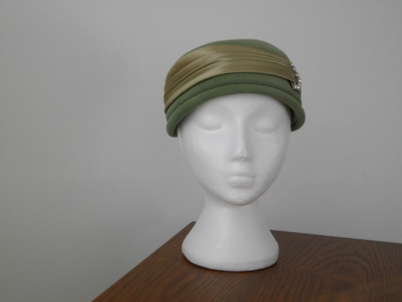 1950'S VINTAGE PILL BOX Dress Hat
