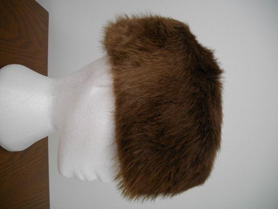 1960's Vintage BEAVER FUR HAT - image 3
