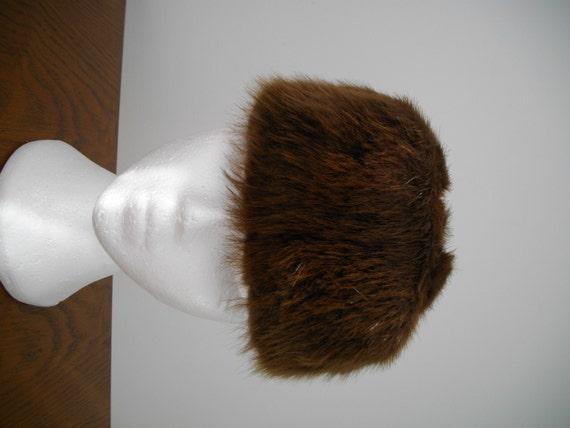 1960's Vintage BEAVER FUR HAT - image 2
