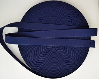 5 - 20 Meters Nautical 1 inch (25mm) Suspender Webbing / Waistband Elastic