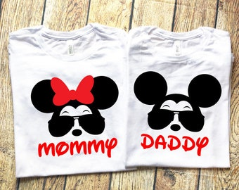 Disney Shirts for Family, Family Disney Shirts, Disney Family Shirts,  Cool Minnie, Cool Mickey, Disney Shirt, Disney Trip Shirts