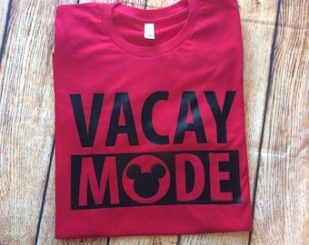 Vacay Mode, Disney Vacay, Disney Shirts for Family, Family Disney Shirts, Disney Family Shirts, Disney Shirt