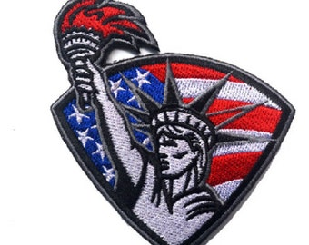 Details about  /NIP Vintage Statue of Liberty Gift Center New York NYC Embroidered Patch