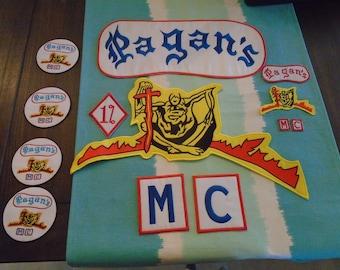 Pagans MC Brooch On Sale | Etsy