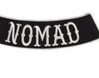 Nomads Outlaw bottom Rocker 10 inch