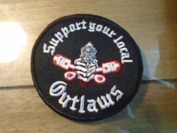 Support your local outlaws sylo patch, 002 sylo.