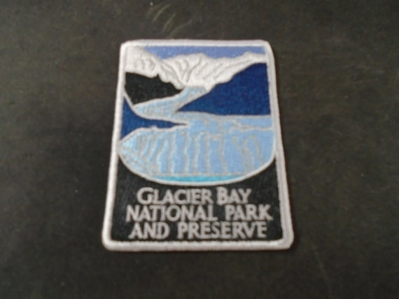 Glacier Bay National Park and Preserve Patch Iron on Alaska