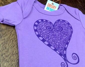 Baby Shop, Organic Baby Girl, Baby Gift, Organic Cotton, Artsy Baby Gift, Baby Girl Clothes, Baby Girl Gift, Purple Baby Clothes, Baby Girl