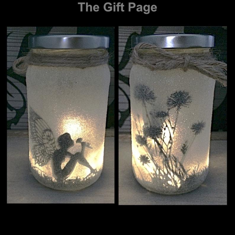 Fairy Light up jar image 0