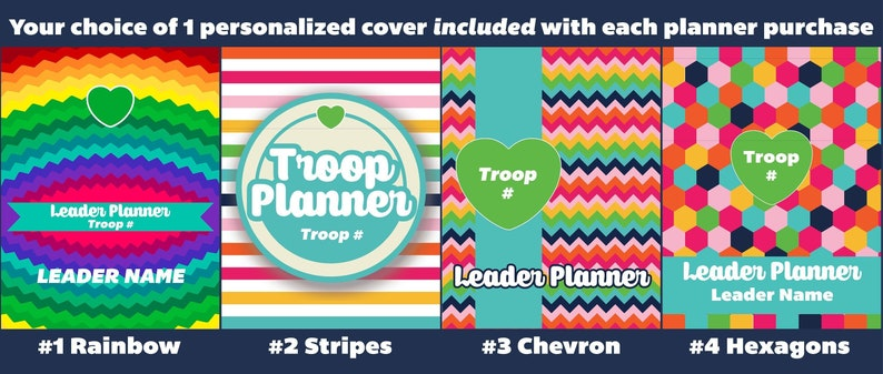 Scout Leader Troop Planner Packet strawjenberry NOW image 0