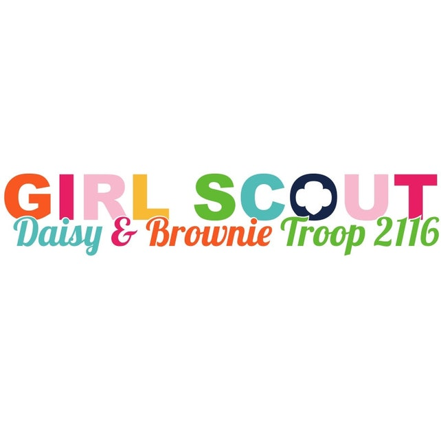 personalized girl scout multi level troop logo etsy