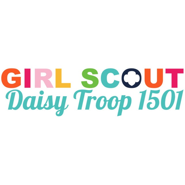 personalized girl scout daisy troop logo etsy
