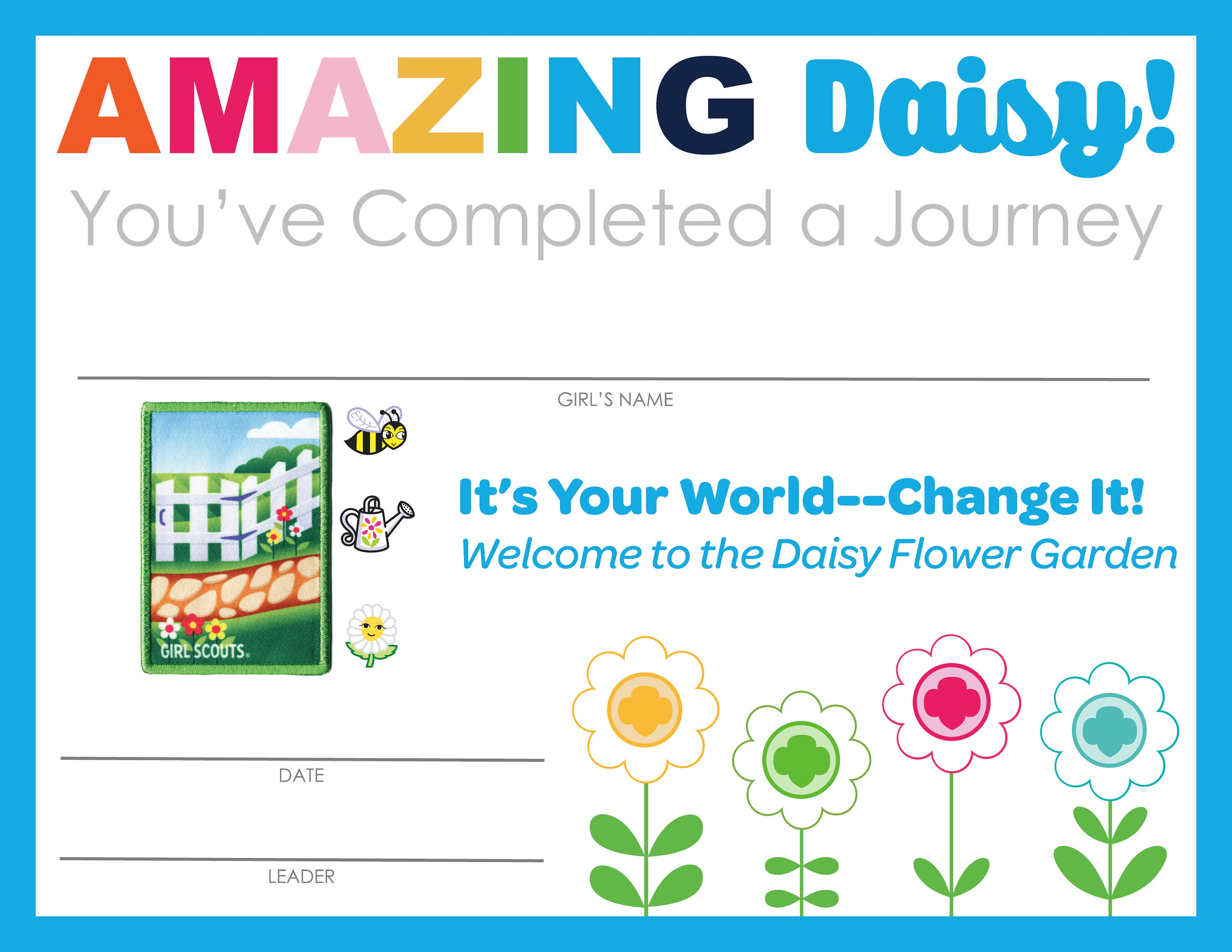 Invitation template girl scout daisy journey topsimages complete set of girl scout daisy badge journey completion etsy jpg 3000x2318 invitation template girl scout izmirmasajfo