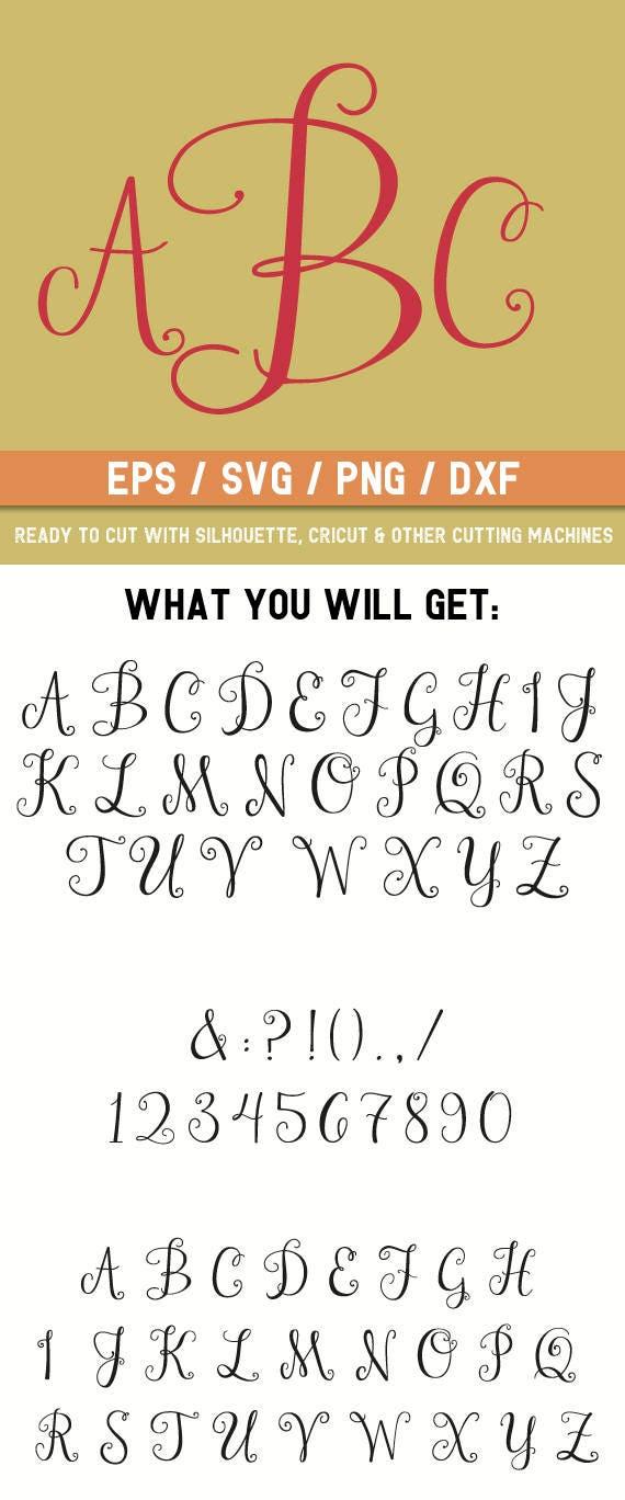 pretty cursive fonts