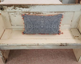 Ordinaire Antique 100 Year Old White Door Bench For Porch/Foyer/Room With Original  Hardware