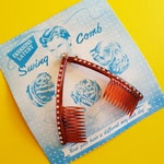 Vintage Diamante Swing Comb
