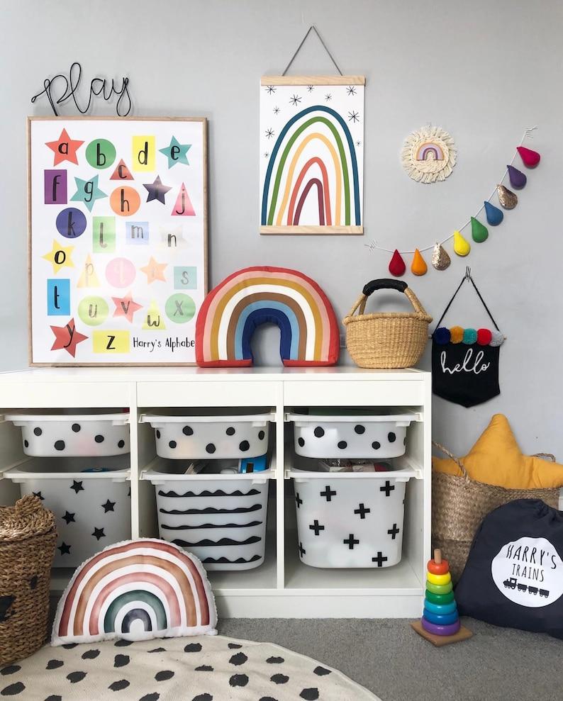 Ikea Trofast Hack Decal Stickers Playroom Furniture Kids image 0