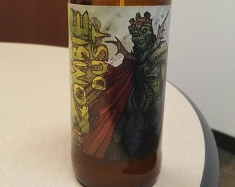 3 Floyds Zombie Dust  - Beer Bottle Candle