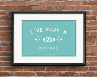 Made A Mistake Etsy