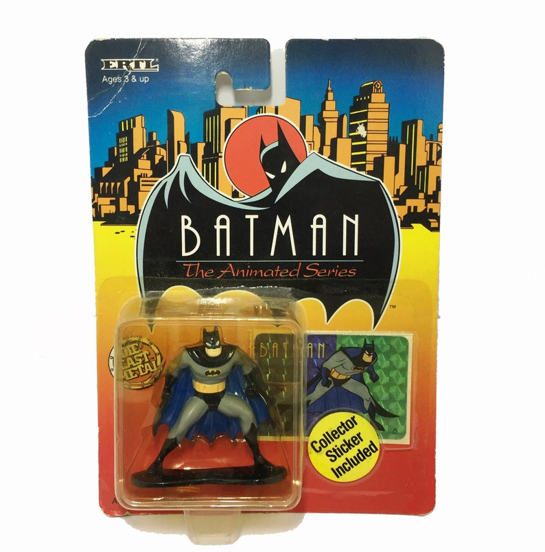 Batman The Animated Series 1993 ERTL Die-Cast CATWOMAN