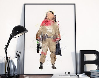 Baze Star Wars, Star Wars Rogue One, Posters Star Wars, Star Wars Art, Watercolor Star Wars, Star Wars Baze Malbus Rogue One