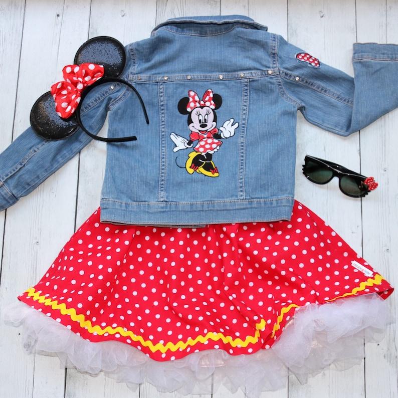 11d3a6780 Girls Embroidered Disney jacket with geniune Swarovski | Etsy
