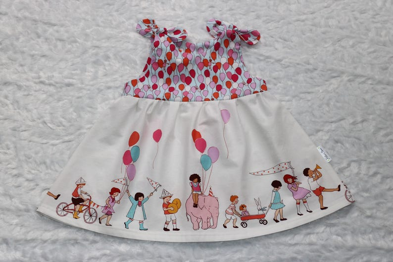 184146270e Girls colorful birthday parade dress Toddler Sundress Girls