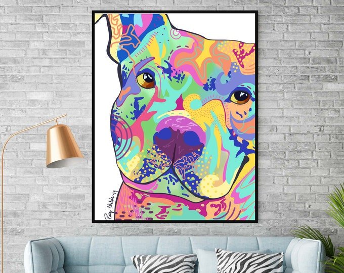 Colorful Pit Portrait
