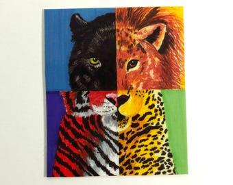 Legends Of The Jungle Sticker