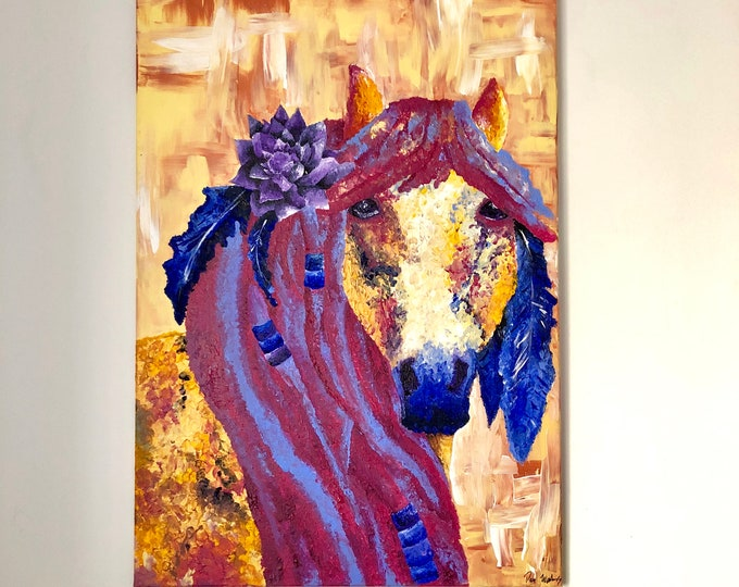 Lotus Horse