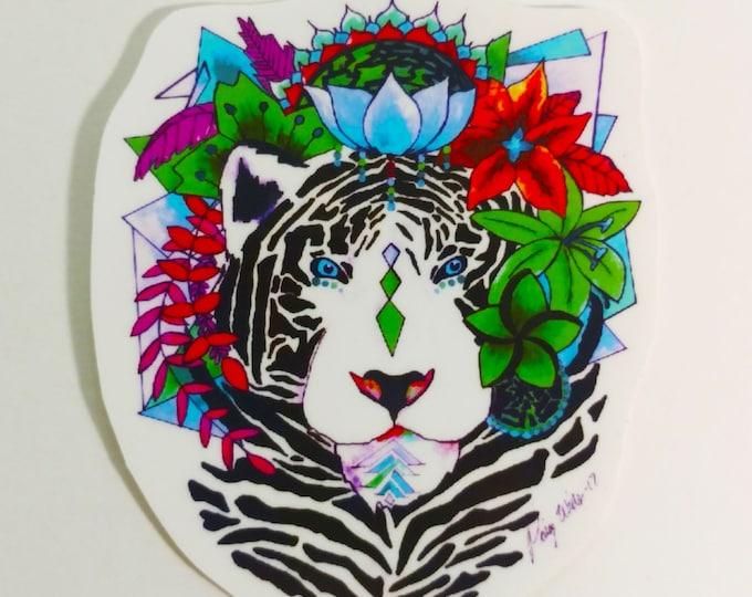 Bengal Paradise Sticker