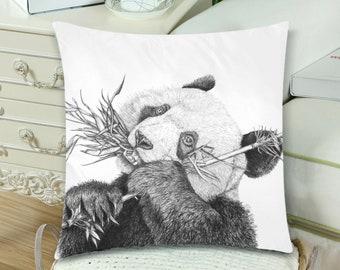 Mr Panda  Pillow Case