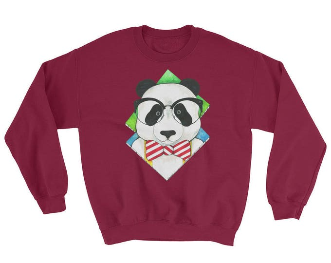 Hipster Panda Sweatshirt