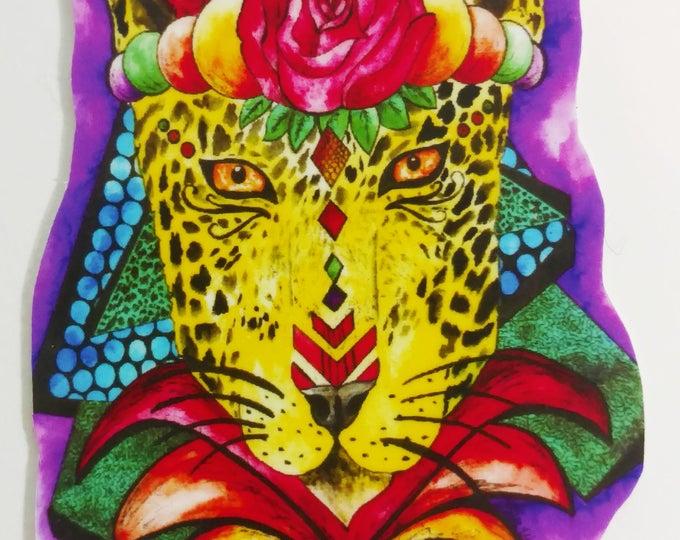 Cheetah Fever Sticker