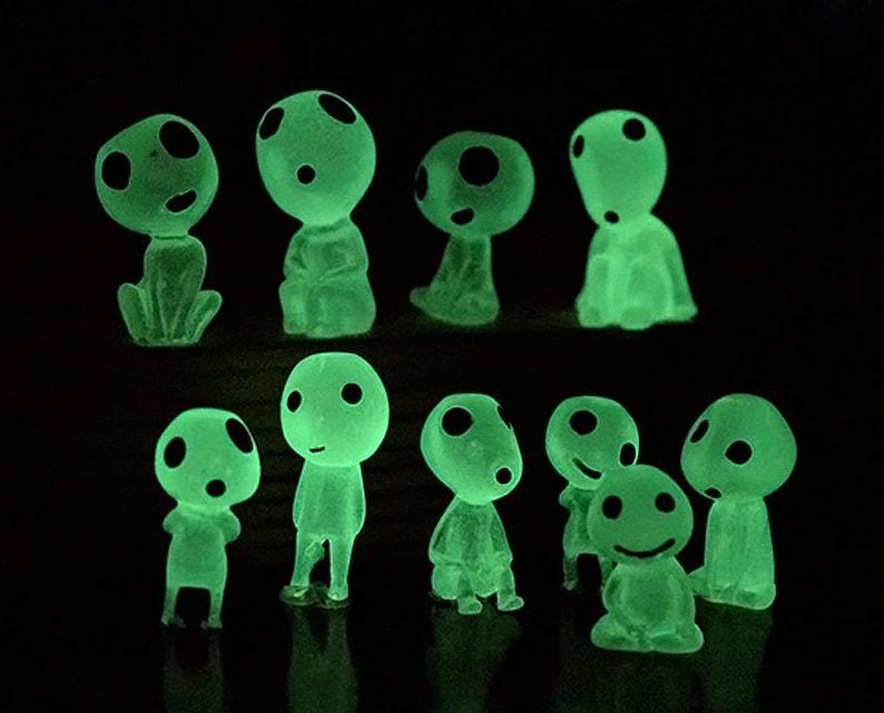 Halloween Luminous Elf ghost fairy garden miniature figurines image 0