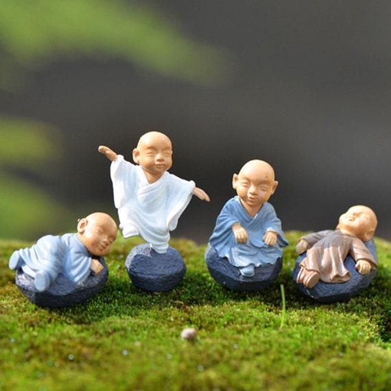 4pcs Mosque Monks Religion Terrarium Figurines Fairy Garden Etsy