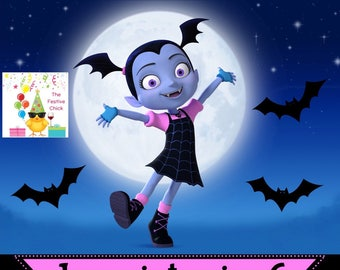 Vampirina Invitations, Disney Junior Vampirina