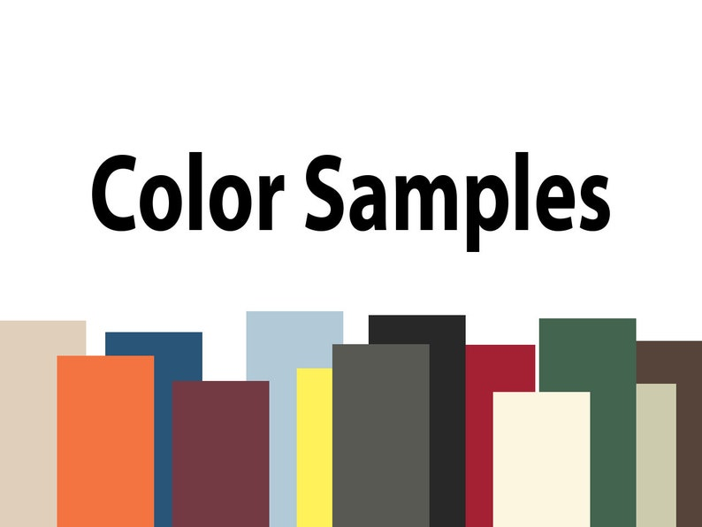 Photo Mat Color Samples (2
