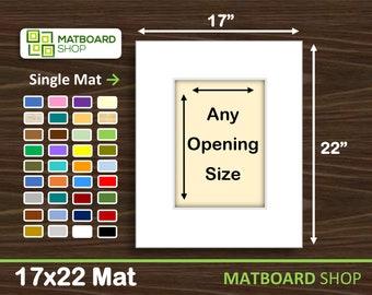 17x22 Premium Matboard
