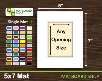5x7 Premium Matboard