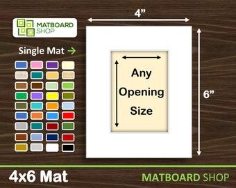 4x6 Premium Matboard